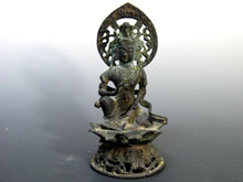 銅製弥勒菩薩像