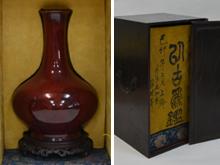 中国 辰砂壷