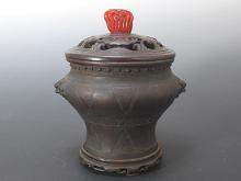 中国 銅製香炉