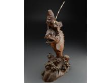 木彫 恵比寿像
