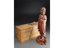木彫 阿羅漢像