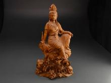 木彫像 聖観音