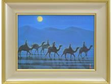「月明かりの砂漠」
