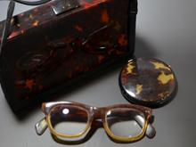 鼈甲製 眼鏡・手鏡