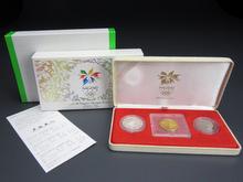 長野オリンピック冬季競技大会記念貨幣 金貨・銀貨・白銅貨 プルーフ