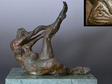 ブロンズ彫刻