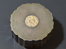 純銀製香合形ボンボニエール