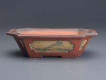 中国額入盆栽鉢