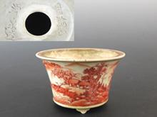 月輪山湧泉 盆栽鉢