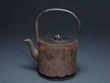 筒形 鉄瓶