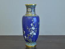 七宝梅文花瓶