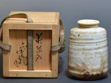 白萩焼酒皿