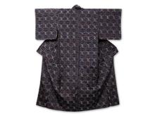 久米島紬 絣模様