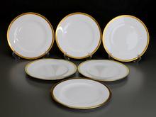 大倉陶園 片葉金蝕 デザート皿